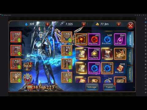 Legacy Of Discord : Furious Wings -  38 Million BR Account Overview