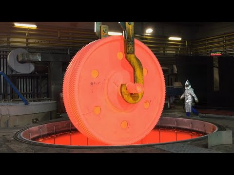Amazing Hot Metal Factory - Modern Technology And Hot Forging Process