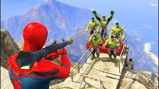 GTA 5 Crazy Ragdolls Spiderman Vs HULK vol.2 (GTA 5 Euphoria Physics Ragdolls Fails Funny)