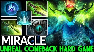 Miracle- [Morphling] Unreal Comeback Hard Game WTF Plays  7.21 Dota 2