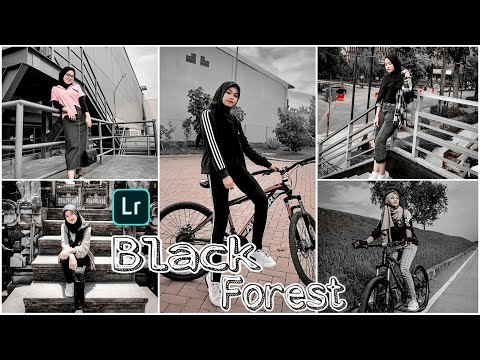 Tutorial Edit Foto Kekinian Ala Selebgram |Black Forest | Lightroom Tutorial