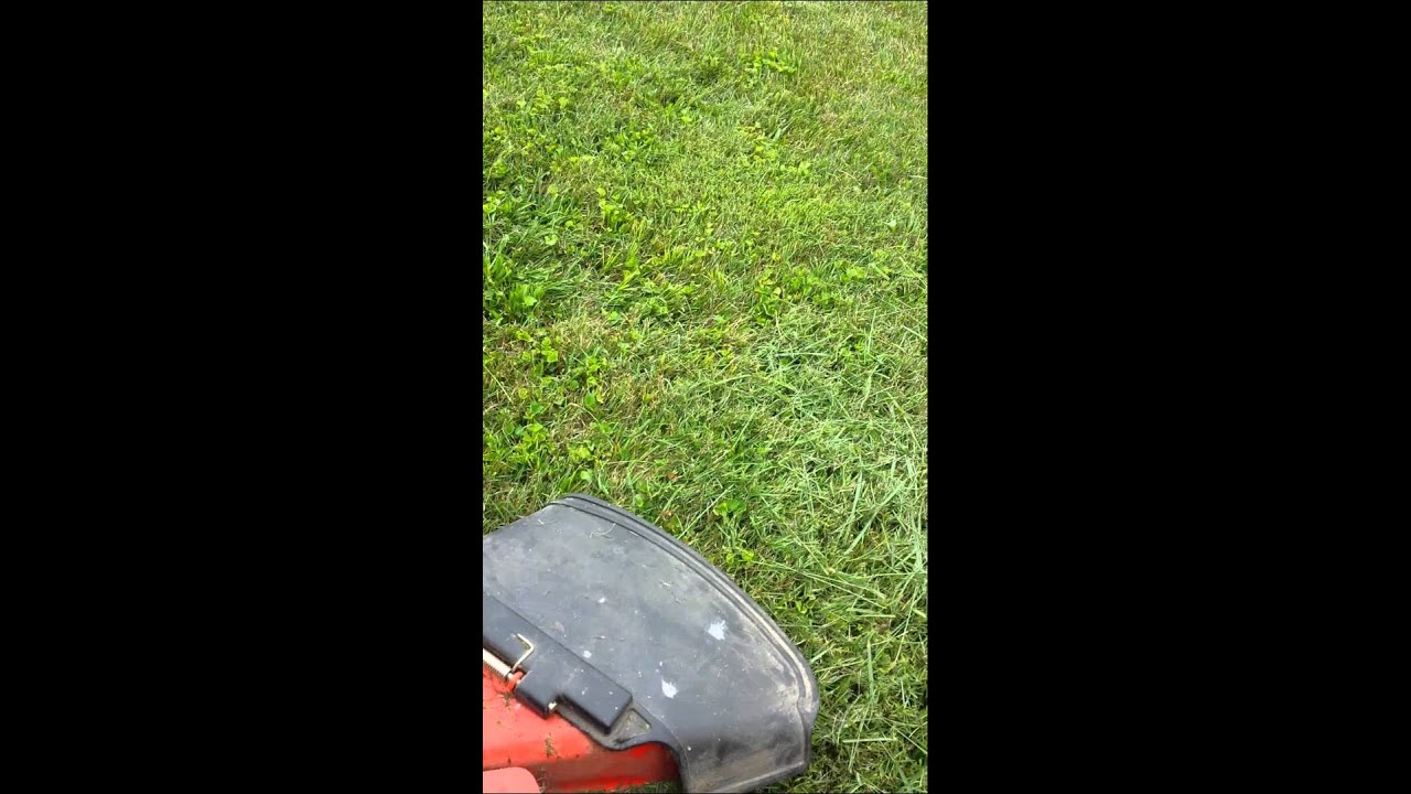 Mowing with my grandfather's Kubota Bx1500 tractor