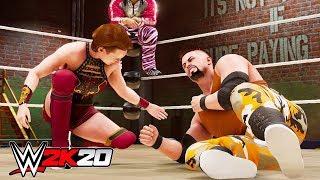 WWE 2K20 MY CAREER TRAILER REACTION!!