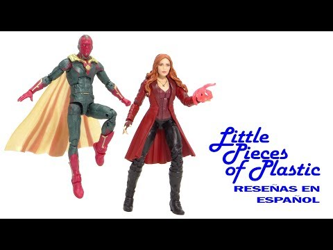 Scarlet Witch & Vision MCU Marvel Legends Juguete Reseña Revisión Toy Review Little Pieces Plastic