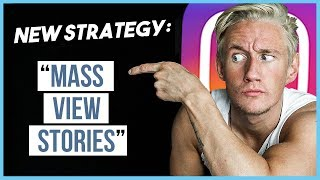 """😱 """"Mass View Stories"""" Growth Strategy - Get Followers Viewing 500k Stories a day?! 😱"""