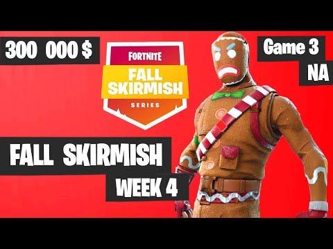 Fortnite Fall Skirmish Week 4 Game 3 NA Highlights (Group 2) - Big Bonus