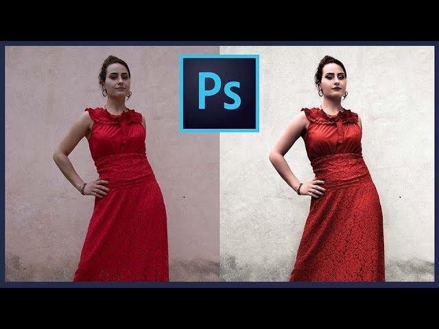 Photoshop Color Correction Tutorial