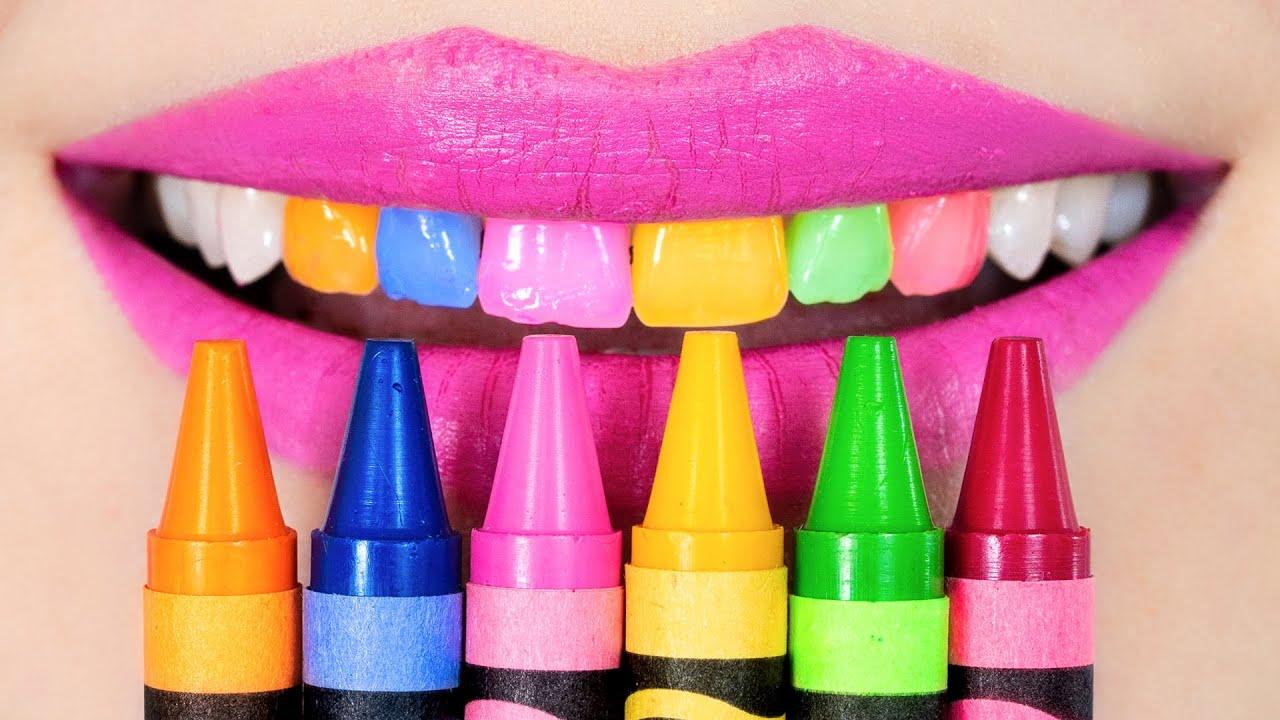 Weird Ways to Sneak Candy in Class! Food School Supplies & Pranks
