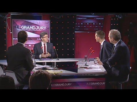 """Jean-Luc Mélenchon était l'invité du """"Grand Jury"""", dimanche 15 octobre 2017"""
