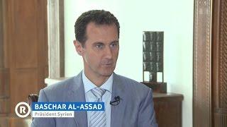 Baschar al-Assad (deutsch) über Kriegspropaganda und Terroristen 19.10.2016 - Bananenrepublik