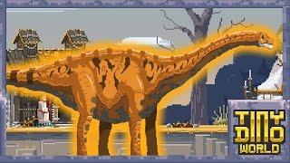 New Tribal War Arena & Argentinosaurus!| Tiny Dino World |Ep:17