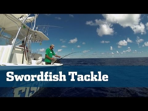 Florida Sport Fishing TV - Daytime Swordfish Tackle Rigging Station Deep Drop Broadbill Swordfish