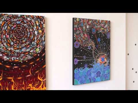 In The Studio with Fred Tomaselli