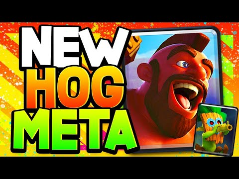 Brand NEW 3-Spell Hog Deck That Counters EVERYTHING!