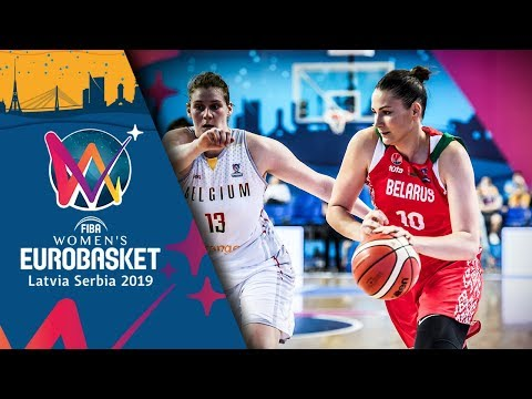 Belgium v Belarus - Highlights - FIBA Women's EuroBasket 2019