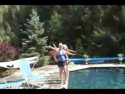 Pool aerobics Esther Williams Part 2