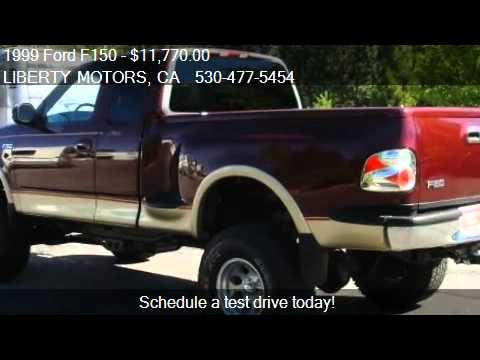Ford F150 5.0 >> 1999 Ford F150 Lariat SuperCab Flareside 4WD - for sale in G - YouTube