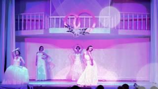 Анапа Всероссийский Фестиваль Невест fashion показ свадебных платьев