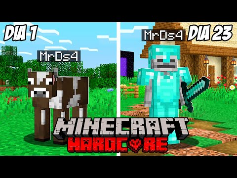 Sobreviví 100 Días en Hardcore Minecraft pero Cada Día Cambio de Forma