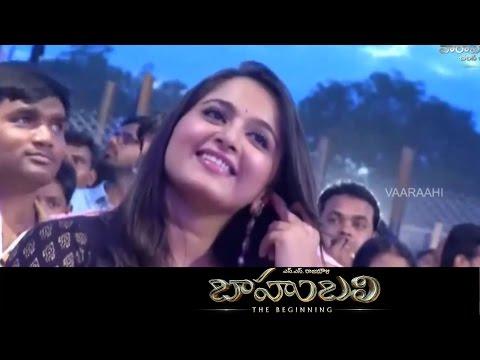 Anushka's Egiri Pothe Song Performance At Baahubali Audio Launch Prabhas, SS Rajamouli