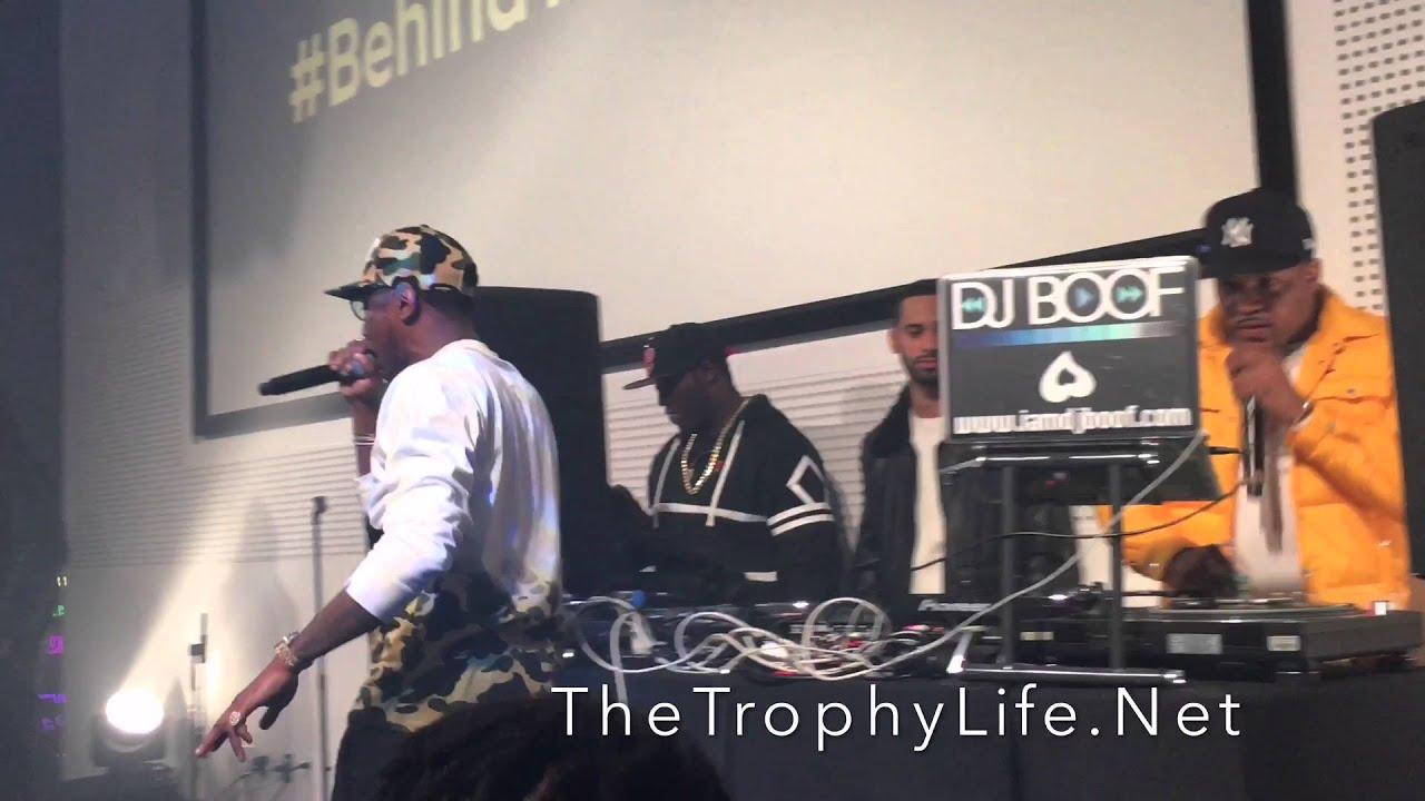 248bb834343 Fabolous Performs Summertime Shootout Cuts   Milly Rock (Remix) At Genius x  Spotify Launch!