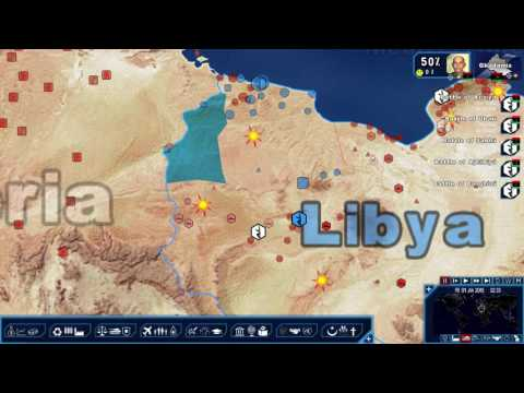 Geopolitical Simulator 4: Chaos in Libya - Part 1