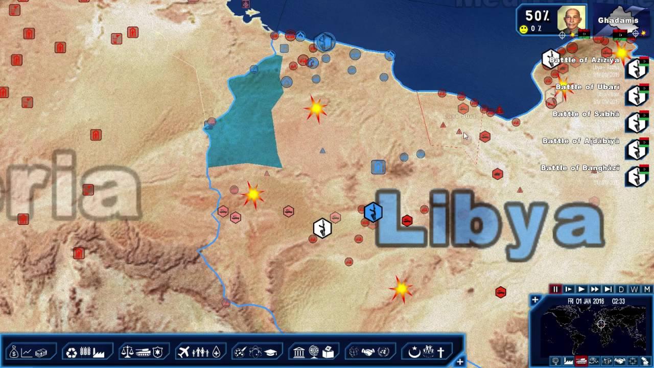 Geopolitical Simulator 4: Chaos in Libya - Part 1