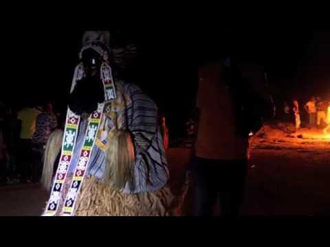 Night Dance in Ivory Coast