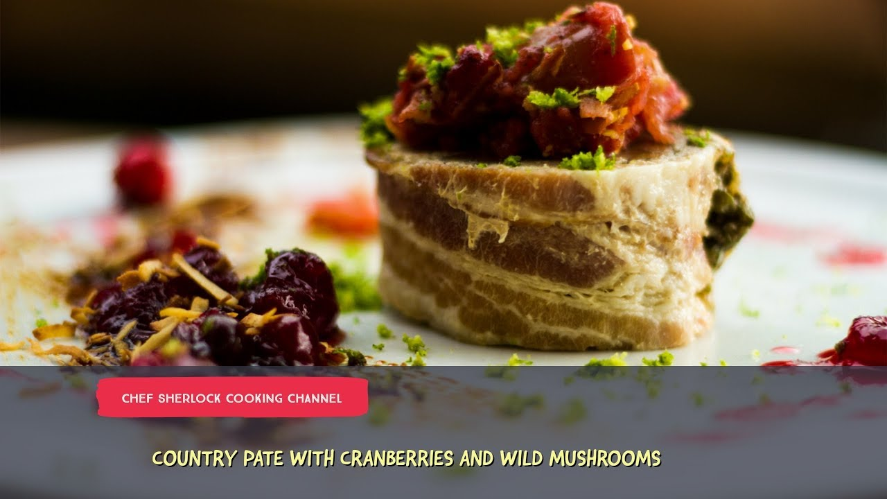 Pork and bacon country pate with caramelized apple and cranberry pork and bacon country pate with caramelized apple and cranberry sauce forumfinder Images
