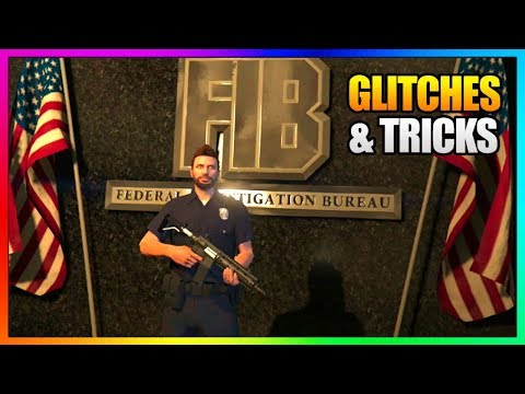 5 NEW Glitches in GTA Online! (FIB...