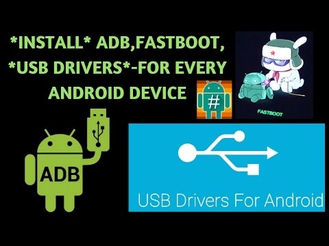 Install ADB,Fastboot,USB Drivers For Any Android Device | Fix Driver Issues On PC |
