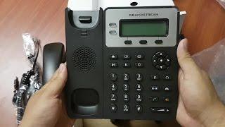 DESEMPAQUETANDO TELÉFONO IP GRANDSTREAM GXP1620 / GXP1625