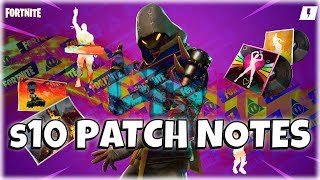 Fortnite Stw : Patch Notes Version 10.00 Update