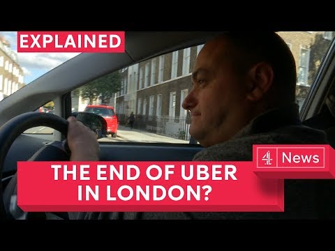 Could Uber be banned in London?