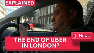 Video Could Uber be banned in London? download MP3, 3GP, MP4, WEBM, AVI, FLV Oktober 2017