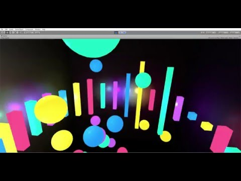 Demo of Inside Harmony (Oculus Rift Music Visualizer)