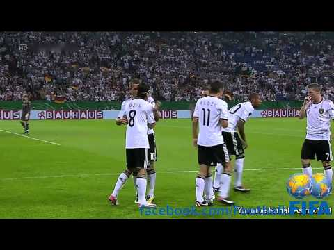 Germany 6-2 Austria - EURO CUP Qualifier - September 2nd 2011