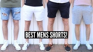 Mens Summer Fashion Favourites - BEST Shorts For Summer 2018