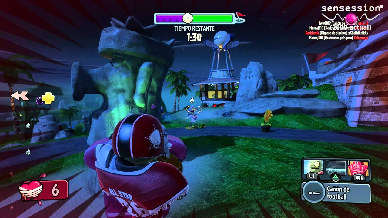 Plants Vs Zombies Garden Warfare Ps4 Gameplay Multiplayer Youtube