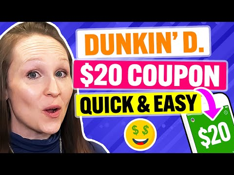 FREE Dunkin' Donuts Coupon & Promo Code 2021: Get MAX Discounts Quickly! (100% Works)