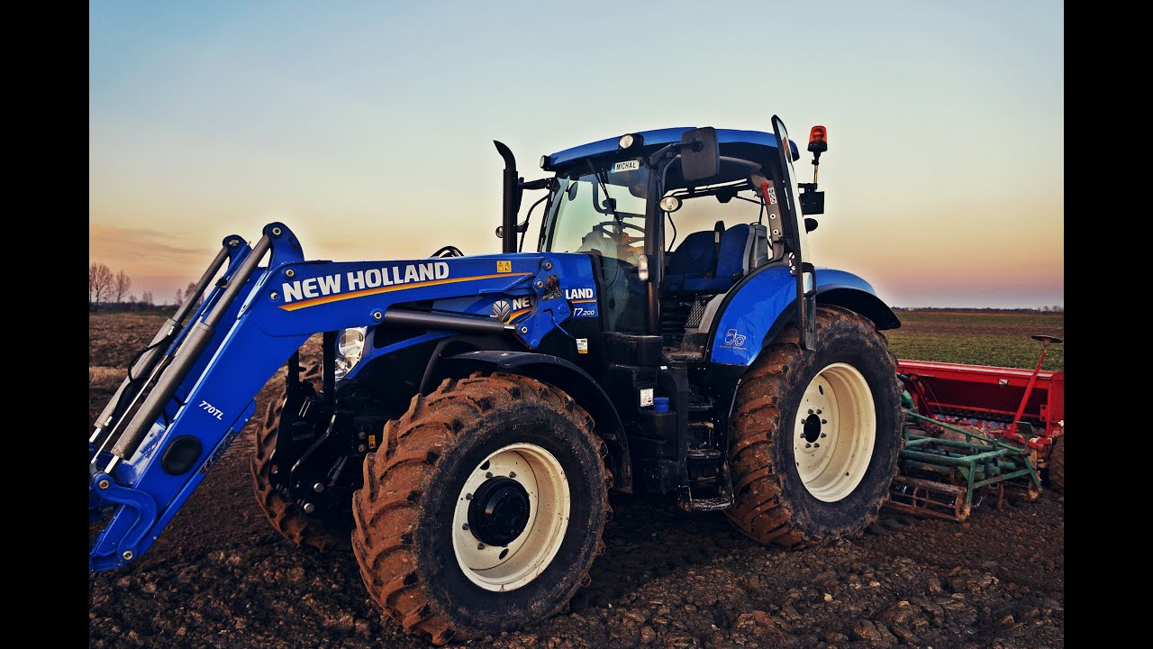 Wiosenny Siew New Holland T7 200