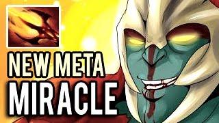 NEW META BY MIRACLE- Huskar with Dagon 1 HIT = 1 KILL 9k MMR Gameplay 7.00 Dota 2