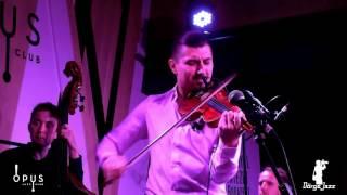 Adam Bałdych Imaginary Quartet OPUS Jazz Club Budapest 2015. 11. 14.