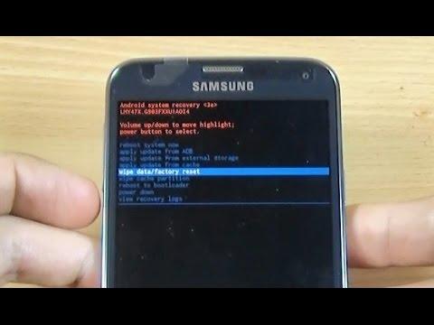 Samsung Galaxy S5 Neo hard reset
