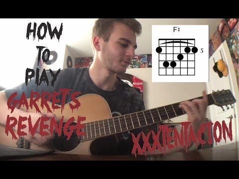 Garret's Revenge - XXXTentacion - (Guitar Lesson) *Tabs*