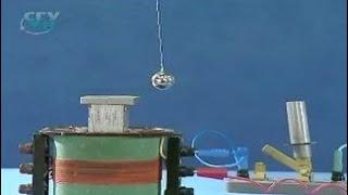 Опыты по физике. Зависимость периода колебаний нитяного маятника от ускорения свободного падения