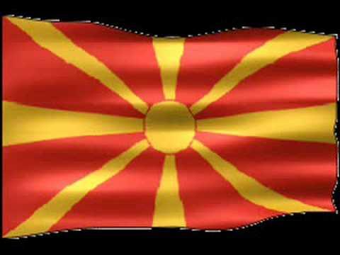 "National Anthem of Former Yugoslav Republic Of  "" Macedonia """
