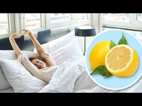 Cut a Few Lemons and Place Them On The Bedside In Your Bedroom Here's Why | amazing health benefits