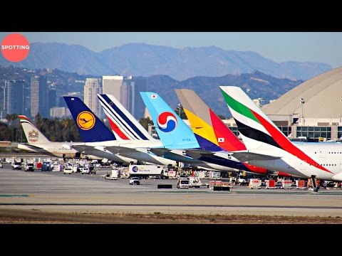 Los Angeles International Airport Plane Spotting from Imperial Hill | A380, 747, 777 and more!