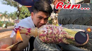 Chủ Tịch Giả Làm Pháo Và Cái Kết Như (!) ( make match bombs )